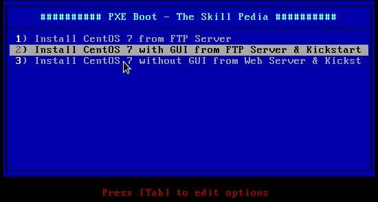 Automated Installations of RHEL/CentOS 7 using PXE Server and Kickstart