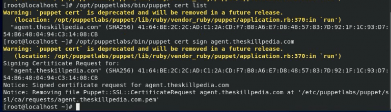 puppet-cert-sign-agent